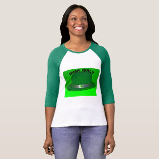 Irish Girl with a Green Hat T-Shirt
