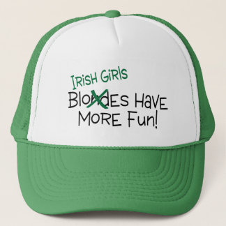 Irish Girls Have More Fun Trucker Hat