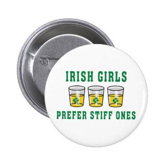Irish Girls Prefer Stiff Ones 2 Inch Round Button
