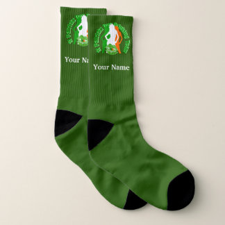Irish girls St Patricks drinking team Socks