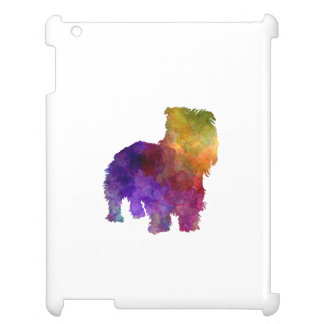 Irish Glen of Imaal Terrier in watercolor Case For The iPad