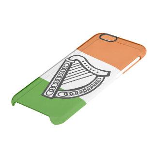 Irish glossy flag clear iPhone 6/6S case
