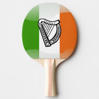 Irish glossy flag ping pong paddle