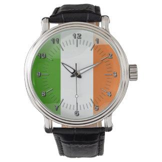 Irish glossy flag watches