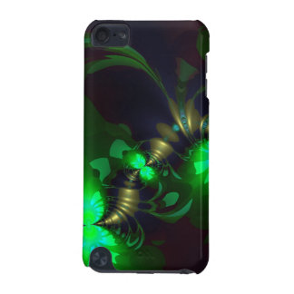 Irish Goblin – Emerald and Gold Ribbons iPod Touch 5G Cover