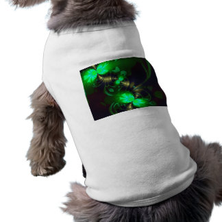 Irish Goblin – Emerald and Gold Ribbons Dog Clothes