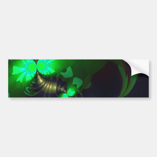 Irish Goblin – Emerald and Gold Ribbons SP Bumper Sticker
