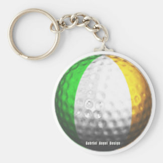 Irish Golf Keychain