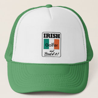 Irish Golfer and Proud of it! Trucker Hat