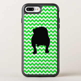 Irish Green Chevron with Bulldog OtterBox Symmetry iPhone 8 Plus/7 Plus Case