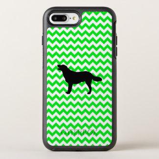 Irish Green Chevron with Golden Silhouette OtterBox Symmetry iPhone 8 Plus/7 Plus Case