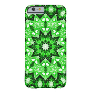 Irish Green Fractal Barely There iPhone 6 Case