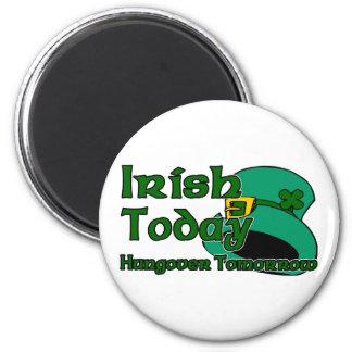 Irish Hangover 2 Inch Round Magnet