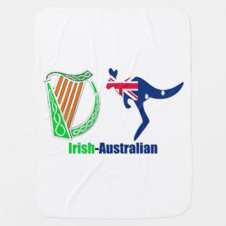 Irish Harp-Australia flag Baby-Blanket Baby Blanket