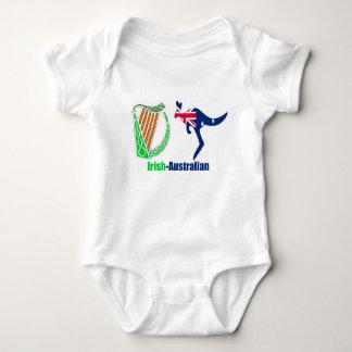 Irish Harp-Australia  Flag Baby-Jersey-Bodysuit Baby Bodysuit