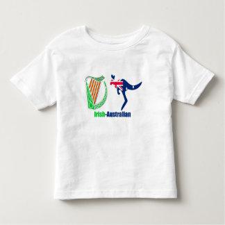 Irish Harp-Australia flag  Toddler-Jersey-T-Shirt Toddler T-shirt