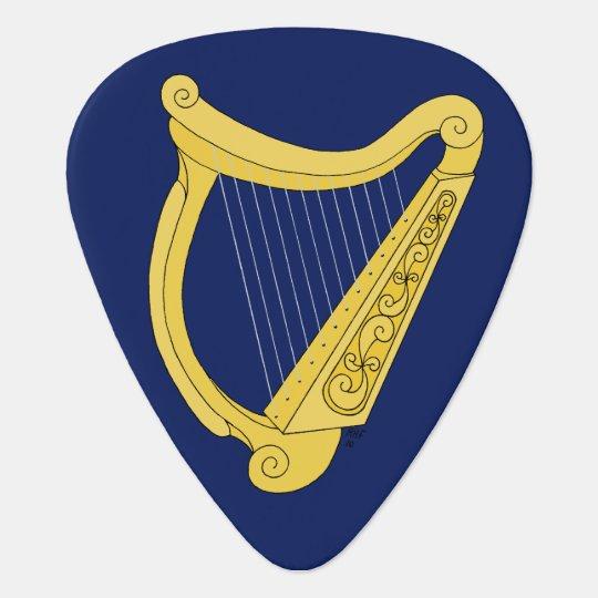 Irish Harp Guitar Pick