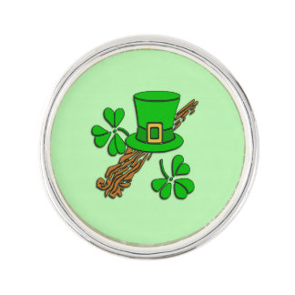Irish Hat Green Lapel Pin