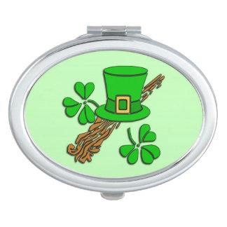 Irish Hat Green Makeup Mirrors