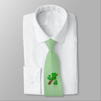 Irish Hat Green Tie