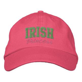 Irish Hat, Irish Princess Embroidered Hat