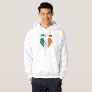 Irish heart hoodie