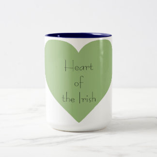 Irish_Heart of_St.Patrick's Day-Everyday- Two-Tone Coffee Mug