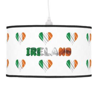 Irish heart pendant lamp