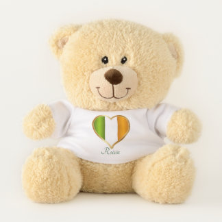 IRISH HEART TEDDY BEAR