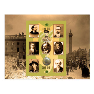 Irish Heroes image for postcard