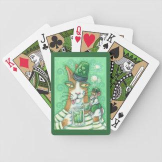 IRISH HISS N' FITZ CAT BICYCLE PLAYING CARDS