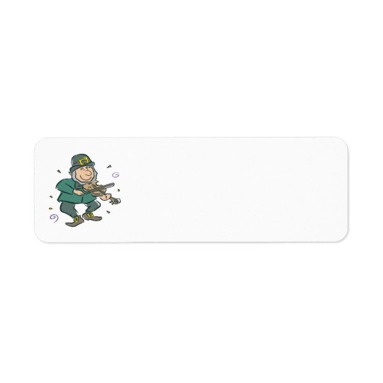 Irish Ho Down Return Address Label