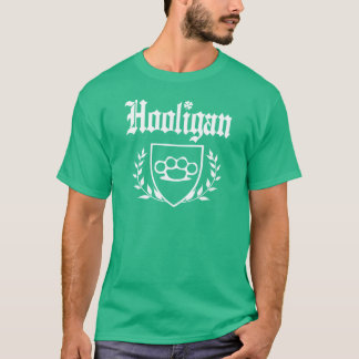 IRISH Hooligan Brass Knuckle Crest T-Shirt