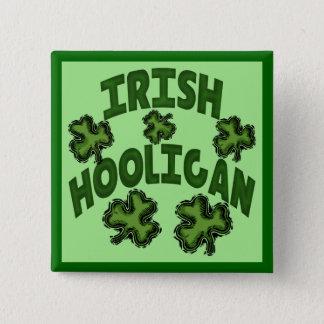 Irish Hooligan Button