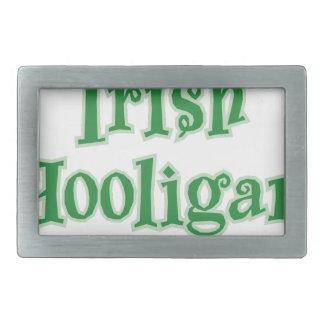 Irish_Hooligan Rectangular Belt Buckles