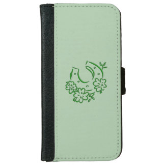 Irish Horseshoe iPhone 6 Wallet Case