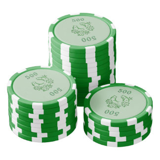 Irish Horseshoe Poker Chip Set