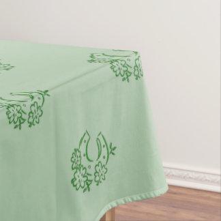 Irish Horseshoe Tablecloth