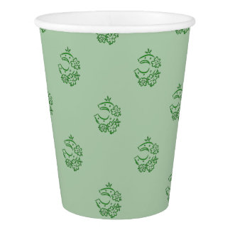 Irish Horseshoe Theme Paper Cup
