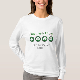 Irish Hugs St Patricks Day Shirt