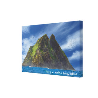 Irish image for Wrapped canvas