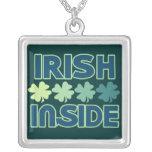 Irish inside necklaces