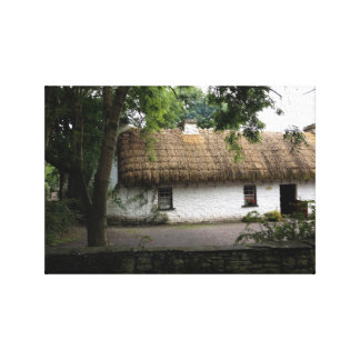 Irish Ireland Country Cottage Canvas Print