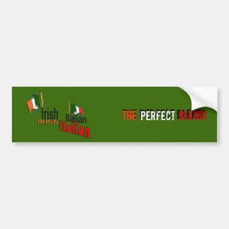 Irish Italian Bumper Sticker