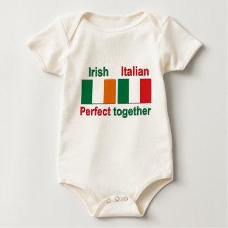 Irish Italian - Perfect Together! Baby Bodysuit