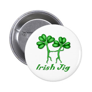 Irish Jig 2 Inch Round Button