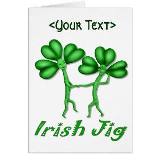 Irish Jig Greeting Card