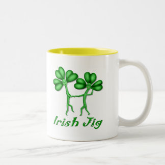 Irish Jig Two-Tone Mug
