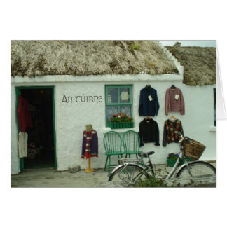 Irish Knits Card