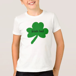 Irish Lad Shamrock Kids T-Shirt